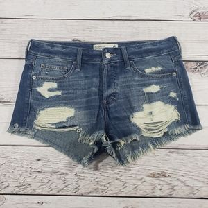 Abercrombie & fitch distressed boyfriend shorts 6